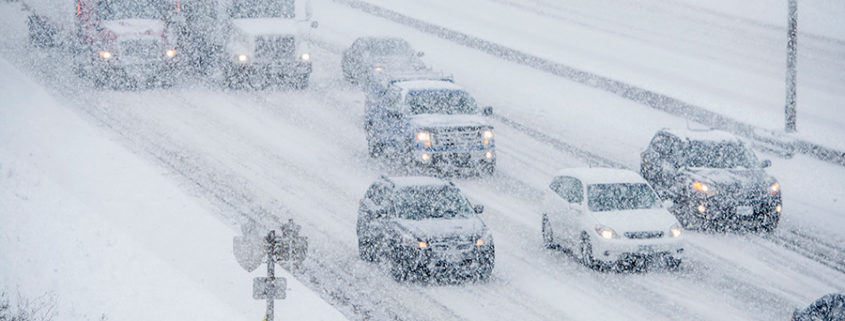Motor Vehicle Accidents on Slippery Roads